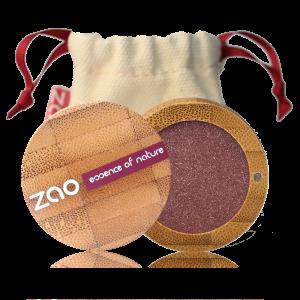 ZAO økologisk shimmer øyenskygge Pearly Garnet