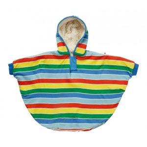 Økologisk poncho til baby