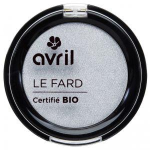 Avril økologisk øyenskyggeGris Perle Irisé