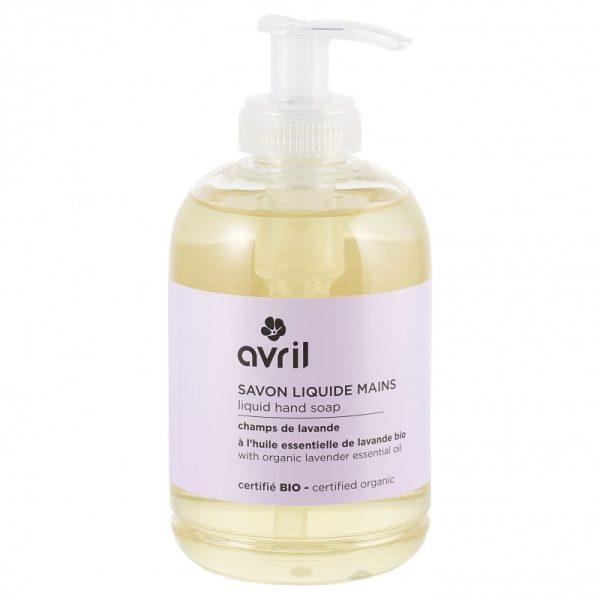Økologisk såpe med lavendel