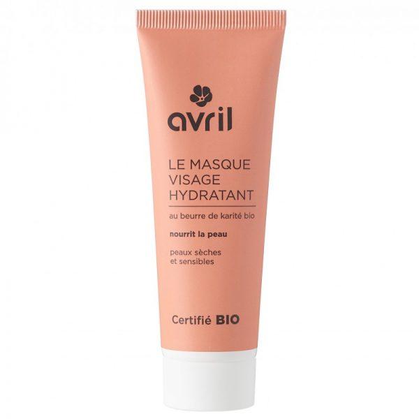 Avril økologisk fuktighetsgivende ansiktsmaske 50 ml