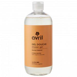 Avril økologisk dusjsåpe aprikos 500ml