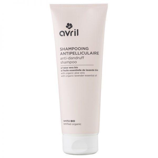 Økologisk antiflass shampo