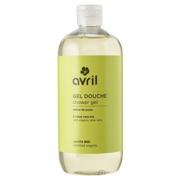 Avril økologisk dusjsåpe pære