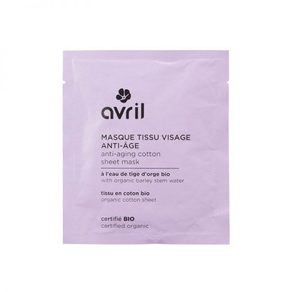 Økologisk ansiktsmaske i bomull