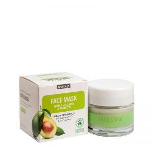 Økologisk ansiktsmaske